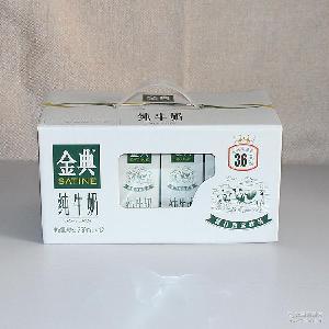 供应金典有机纯牛奶 250ml*12盒金典纯牛奶礼盒装特价批发