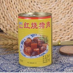 厦门古龙食品红烧猪肉罐头397g真空包装东坡肉快餐便当烹饪伴侣