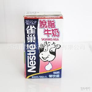 烘焙原料脱脂牛奶 餐饮提供脱脂牛奶 果肉饮料批发 雀巢脱脂牛奶