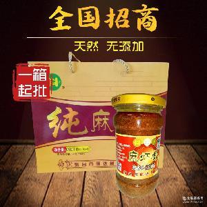 东台特产鲜辣味纯麻虾酱 麻虾酱批发 正宗特级天然麻虾酱