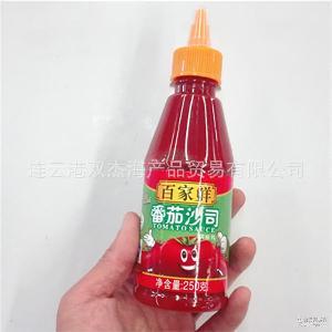 百家鲜番茄沙司优质番茄酱手抓饼薯条汉堡小吃蘸酱寿司材料调味酱
