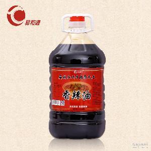 供应传统工艺凉拌菜*香辣油 5L桶装l调味品辣椒油批发一件代发