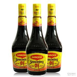 雀巢酱油 美极鲜味汁800ml 美极鲜酱油 酒店*蘸虾蒸鱼吃海鲜