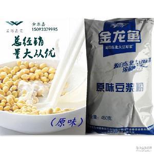 6袋包邮金龙鱼原味/甜味豆浆粉速溶早餐快餐店冲饮调味甜味豆乳粉