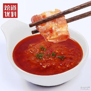 火锅蘸料 辣椒酱加盟店用批发 烩道调味品 剁椒湘辣酱 调味料