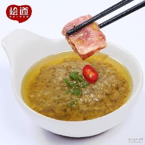 火锅蘸料500g 辣椒酱批发 烩道火锅店辣酱调味品 蒜香川椒酱