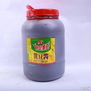 6KG/桶 YES黄豆酱 批发 非转基因食品 海天黄豆酱