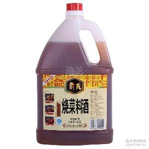 俞龙烧菜料酒去腥提味专用.滴滴醇香让菜更美味支持一代发 零售