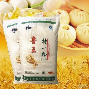 馒头包子煎饼油饼面条油条水饺粉中筋面粉 鲁王特一粉25kg 面粉