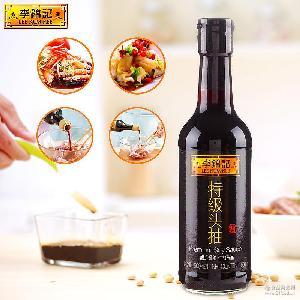 凉拌炒菜 特级生抽 李锦记特级头抽500ml 酿造酱油
