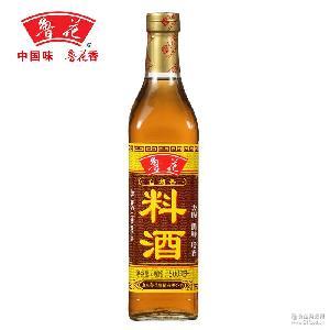增香去腥解膻厨房调味品料烹饪 经销批发鲁花自然香料酒500ML