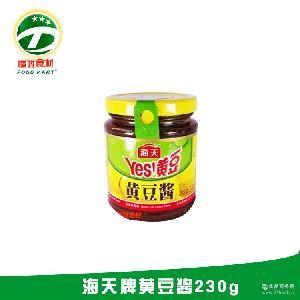 黄豆酱特辣 蒜蓉黄豆酱 【福玛食材】海天牌黄豆酱230g 广州批发