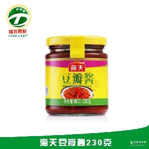 广州调味酱代理 酒店餐饮专业配送 豆瓣酱代理 海天豆瓣酱230克