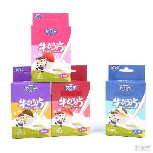 妙力佳特产奶片干吃牛奶片儿童高钙奶酪奶贝营养零食奶糖80g零食