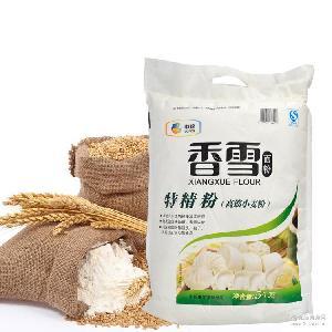 零添加香雪系列 面包面条包子高筋面粉 高筋特精粉5kg 中粮面粉