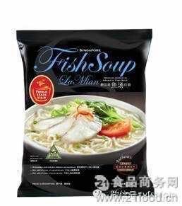 百胜厨鱼汤风味拉面(非油炸型方便面)154g 新加坡进口