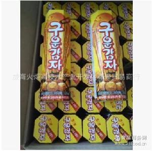 韩国进口小吃膨化零食品海太碳烤土豆条烤薯棒饼干薯条27g*30