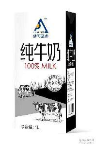 国产一升全脂纯牛奶 妙可蓝多 特价活动中 来自黑土地的滋养