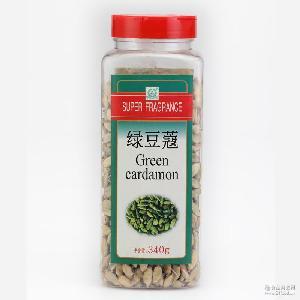 万香园 绿豆蔻 危地马拉 小豆蔻 西餐香料咖啡调味料 进口印度