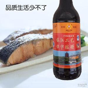 小夫宇镇江工艺陈醋500ML酿造食醋固态发酵凉拌醋