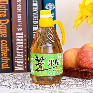 苹果醋纯水果醋调味洗脸美白醋瑶珂1L纯原浆无糖非饮料山西特产醋