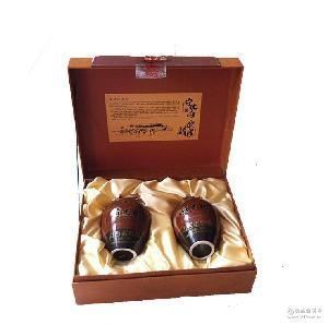 (500ml×2瓶)×3盒/箱 宁化府益源庆老陈醋 黄土地礼盒 十年陈酿