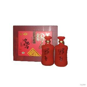 山西特产宁化府十年陈酿礼盒中国红老陈醋 批发供应