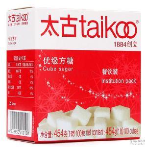 太古优级方糖454g 批发直销 餐饮奶茶咖啡调糖 纯正方糖100粒