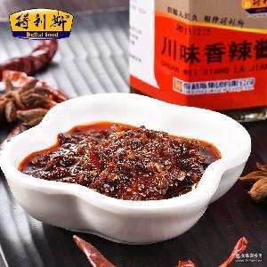 得利斯川味香辣酱150g 川味火锅蘸料秘制拌饭拌面用香辣酱