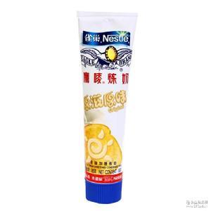 原味炼奶烘焙原材料185g克单支装 17年5月 雀巢鹰唛炼乳