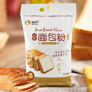 面包机专用 高筋面粉 新良原味面包粉2500g 烘焙原料 面包粉 面粉