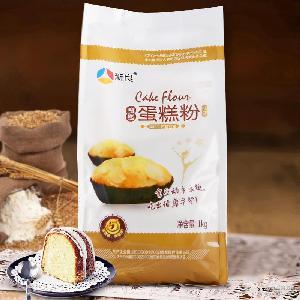 批发新良魔堡蛋糕粉饼干面包月饼烘焙原料低筋小麦面粉1kg*10/件