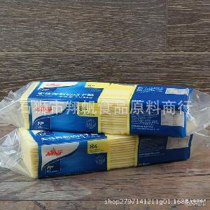 安佳84片芝士片 1.04kg 新西兰 再制切达干酪 汉堡奶酪片