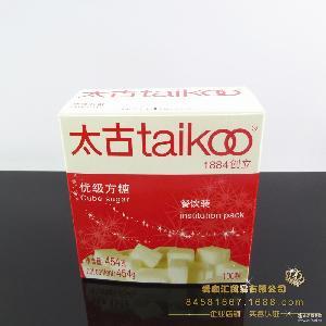 太古优级方糖 咖啡调糖 纯正白砂糖 餐饮盒装 100粒 奶茶伴侣454g