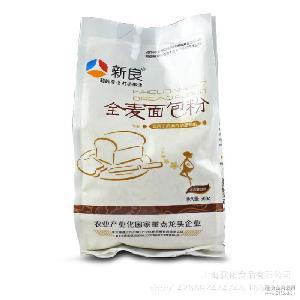 新良全麦面包粉 全麦粉 面包机粉500g*20