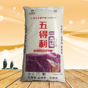河南面粉厂五得利高精小麦粉重庆粮油商城面条面点包子馒头饼饼