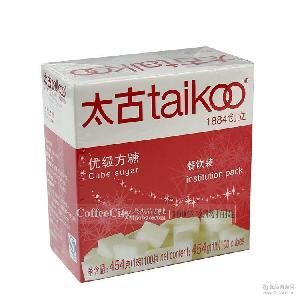 taikoo太古纯正方糖 方糖 咖啡调糖454g 白砂糖 100粒 咖啡调糖