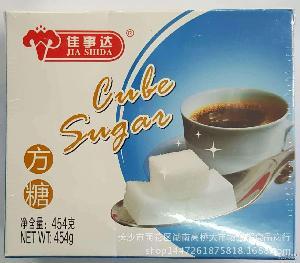 批发 佳事达方糖454g砂糖 108粒咖啡调味方糖 咖啡伴侣