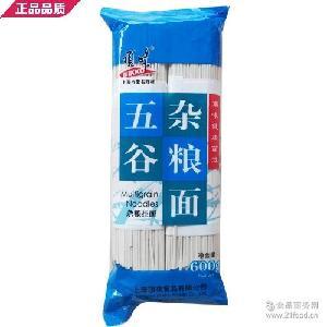 上海NIKKO顶味挂面条五谷杂粮600g粗粮面农家风味