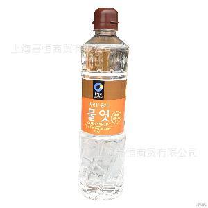 清净园玉米麦芽糖浆水稀太妃牛轧糖用烘焙1.2kg 韩国进口水饴水怡
