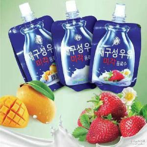 批发进口酸奶 韩国零食酸奶的秘密进口乳酸菌果味酸奶125ml