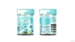 马来西亚进口摩多秒奶片牛奶片原味草莓香蕉休闲零食批发80罐*箱