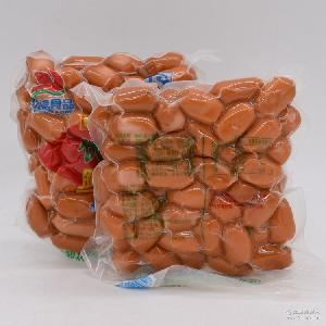 *10袋速冒菜食自助餐饮 批发优信串串肉灌肠短颗粒火锅脆皮肠390g