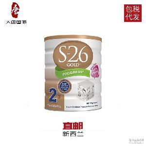 900g 澳洲进口 S26金装2段婴幼儿奶粉(6-12个月)