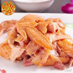 无添加绿色健康美味小吃批发 香辣小雏鸡 酱卤鸡肉制品厂家直销