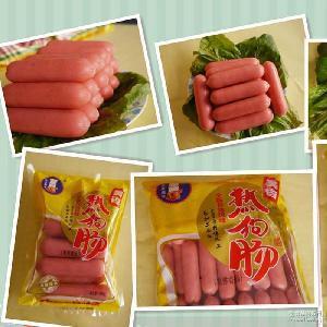500g台式猪肉烤肠速冻食品火腿肠 食品批发热狗肠烧烤台湾香肠