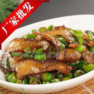 酒店特色菜 湖南特产烟熏腌肉 质量上乘低盐 厂家批发 腊猪脸
