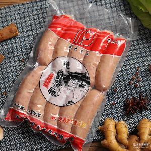 安大台湾风味热狗肠烤肠原味600G台湾风味肉肠手工烤肠厂家批发