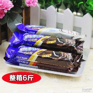休闲零食3公斤整箱 奥利奥散装威化巧克棒饼干 白巧巧克力4口味