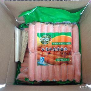 台湾风味烤香肠速冻 批发 烧烤食用原味烤肠热狗肠2.1kg/袋